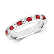 0.35ct Ruby Ring in 9K Gold