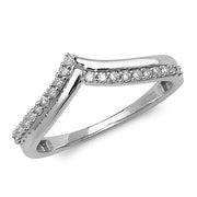 0.15ct Diamond Ring in 9K White Gold