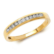 0.17ct Diamond Ring in 9K Gold