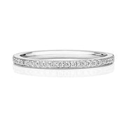 18K Diamond Half Eternity Ring