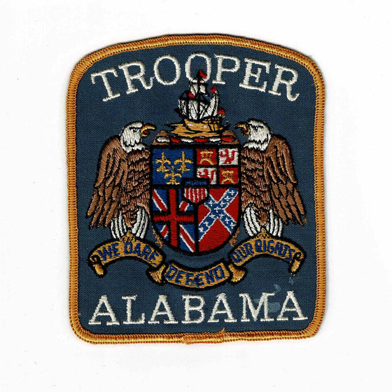 Alabama Police - Authentic Original Cloth Police Badge