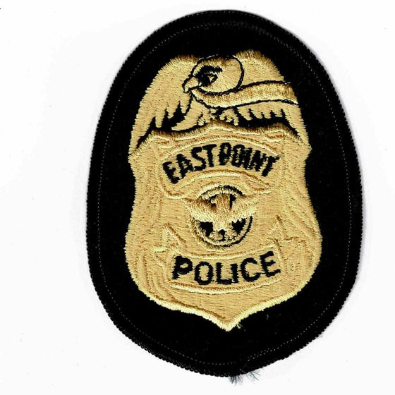 Eastpoint Police - Authentic Original Cloth Police Badge