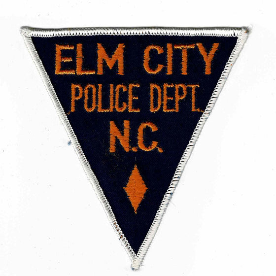 Elm City Police - Authentic Original Cloth Police Badge