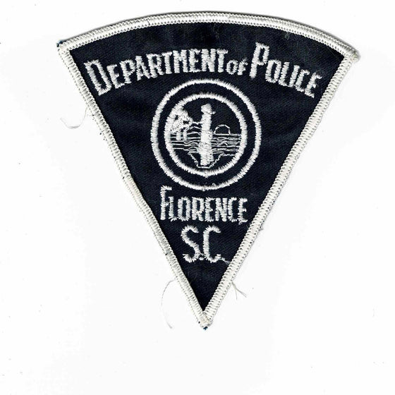 Florence Police - Authentic Original Cloth Police Badge