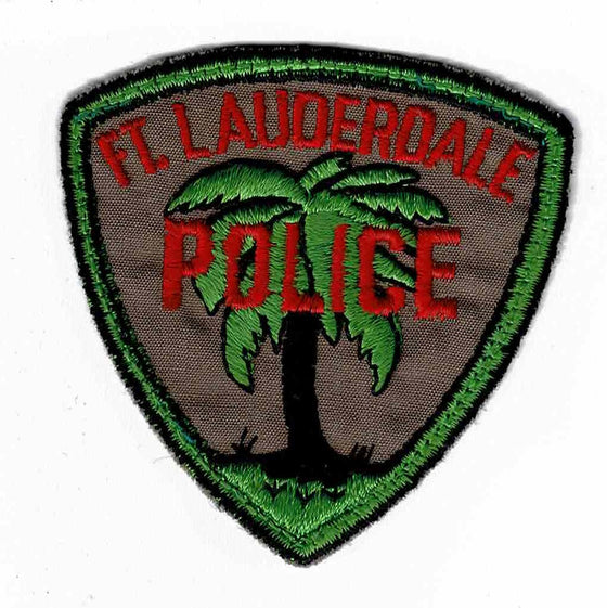 Fort Lauderdale Police - Authentic Original Cloth Police Badge
