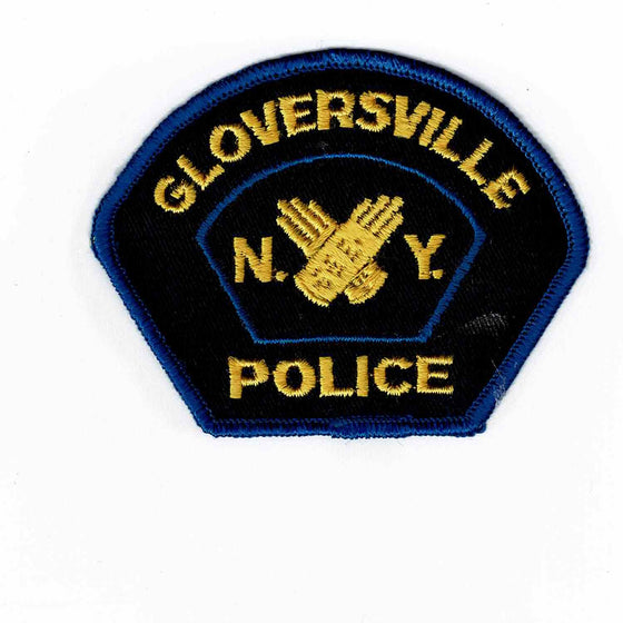 Gloversville Police - Authentic Original Cloth Police Badge