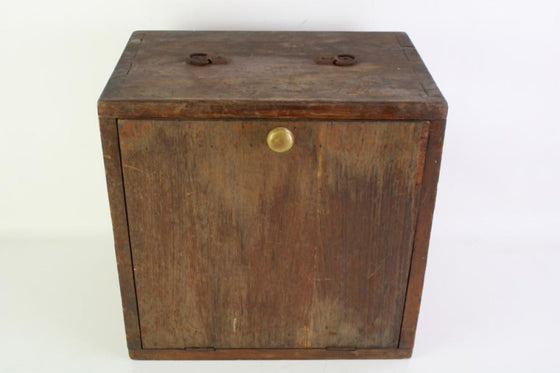 Travelling specimen box c1930s