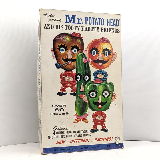 Mr Potato Head and his Tooty Frooty Friends. Hassenfeld Bros, Pawtucket.