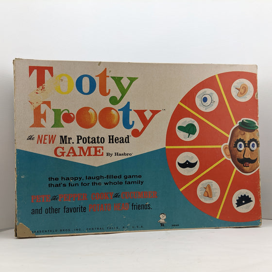 Tooty Frooty the new Mr Potato Head game. 1964. Hassenfeld Bros, Central Falls.