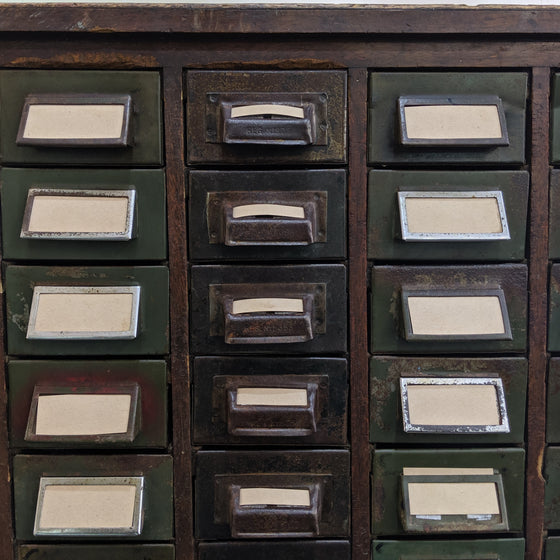 Library Filing Cabinet c1930s