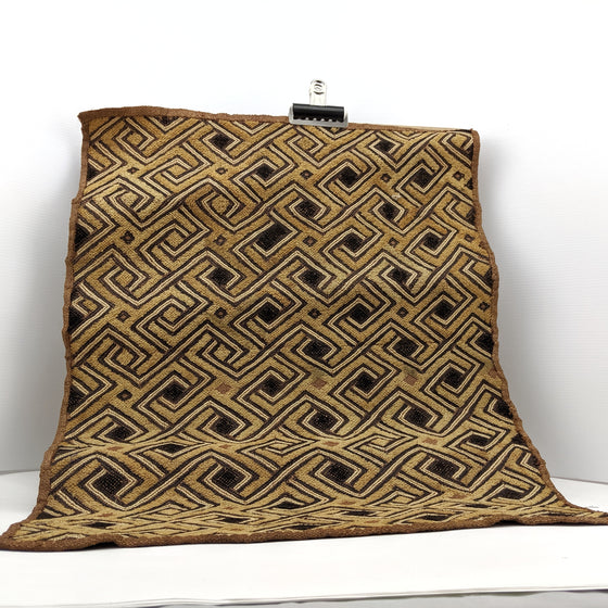 Bògòlanfini - vintage handmade textile from Mali, Africa