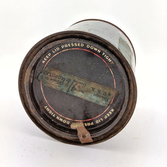 Briggs tobacco tin