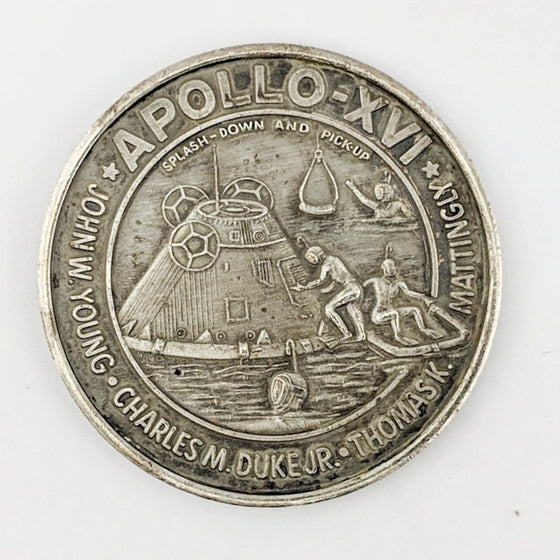Apollo 16 Medallion