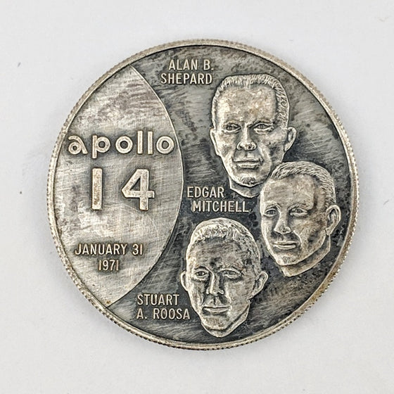 Apollo 14 Medallion