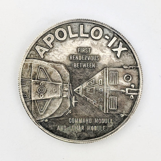 Apollo 9 Medallion