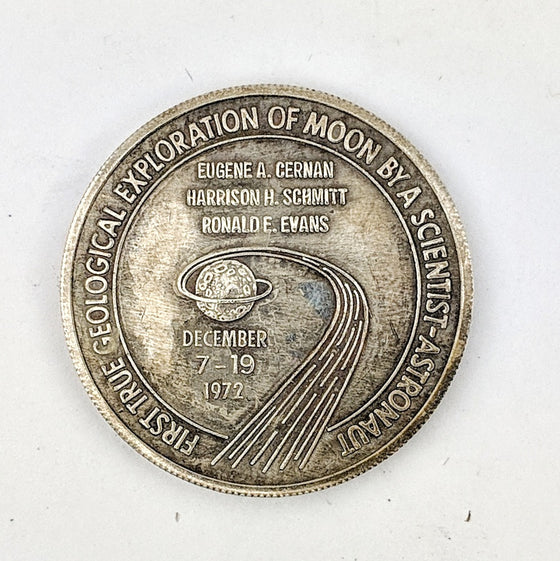 Apollo 17 Medallion