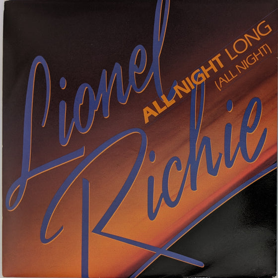 All night long - Lionel Ritchie