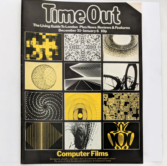 Time Out London (cover only)