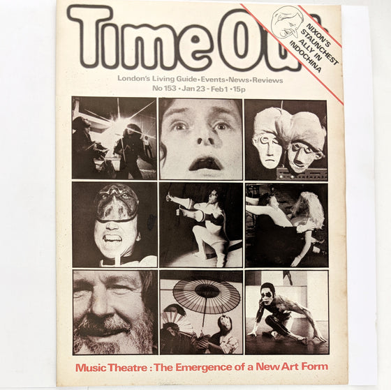 1970s Time Out London 153 (cover only)