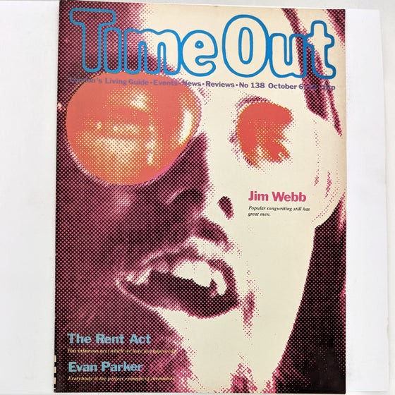 Time Out London 138 (cover only)