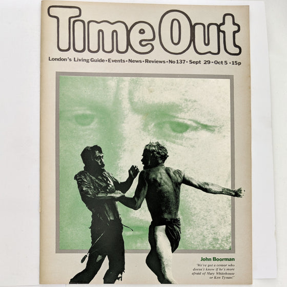 1970s Time Out London 137 (cover only)