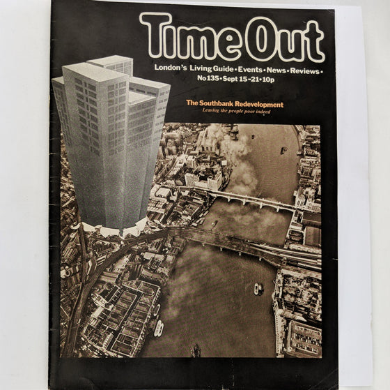Time Out London 135 (cover only)