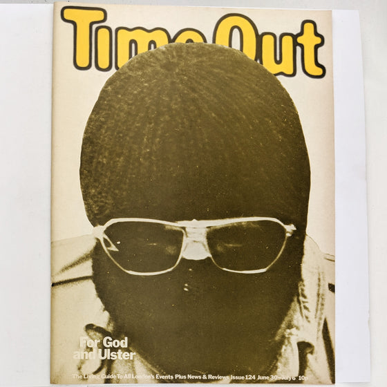 Time Out London 124 (cover only)