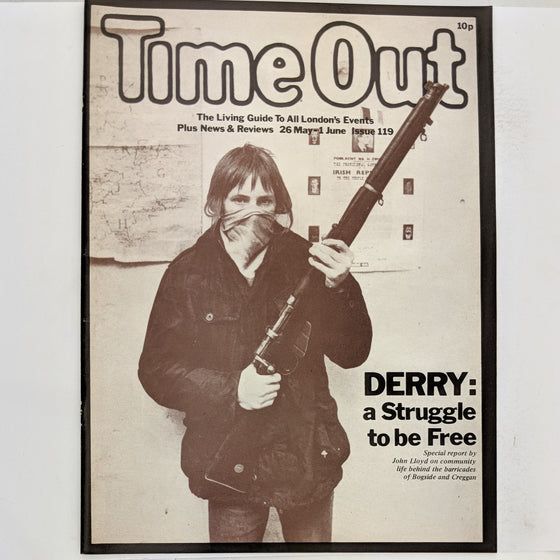 Time Out London 119 (cover only)