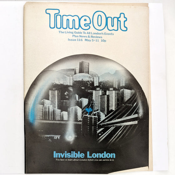 1970s Time Out London 116 (cover only)