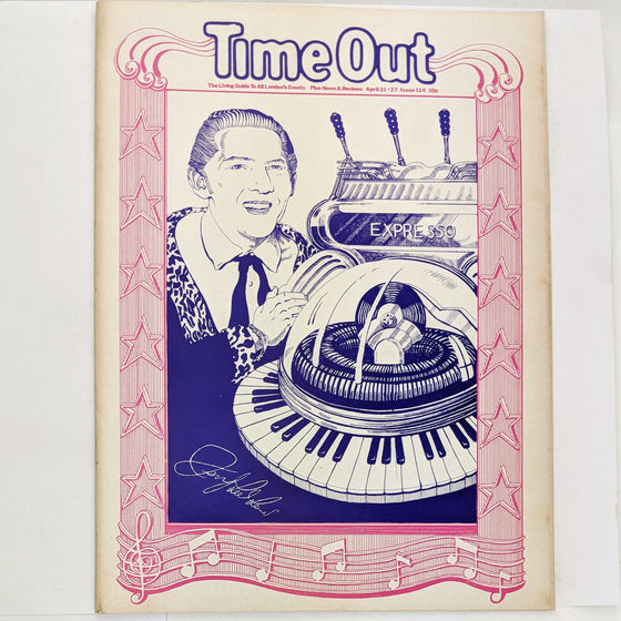 1970s Time Out London 114 (cover only)