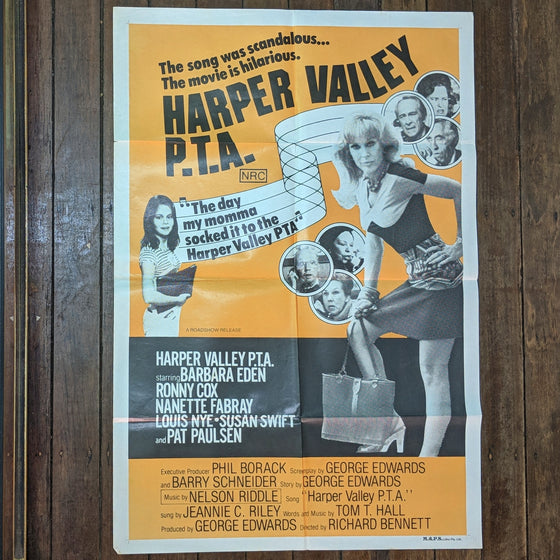 Harper Valley PTA - Movie Poster