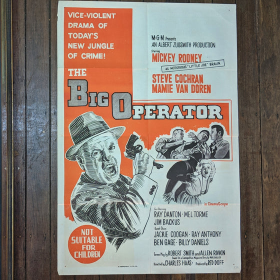 The Big Operator - Movie Poster