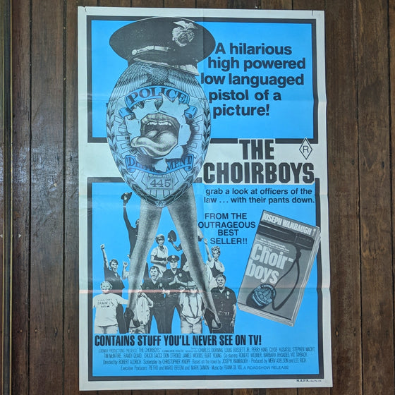 The Choirboys - Movie Poster