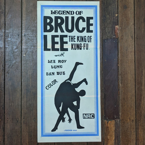 The Legend of Bruce Lee - Movie Poster