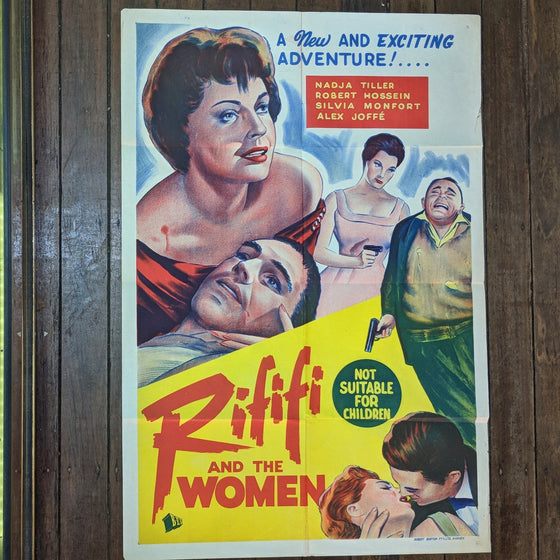Rififi - Movie Poster