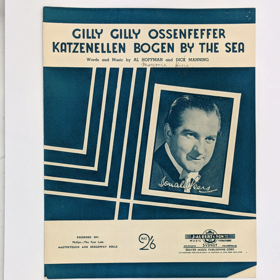 Gilly gilly.. - Sheet Music