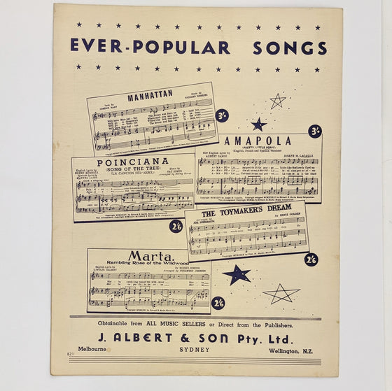 One Night - Sheet Music