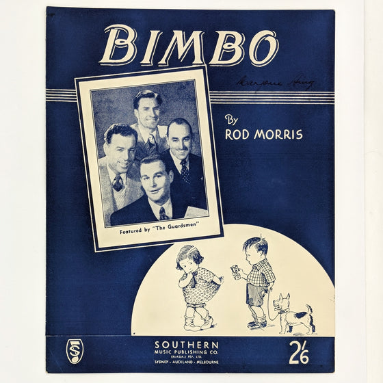 Bimbo - Sheet Music