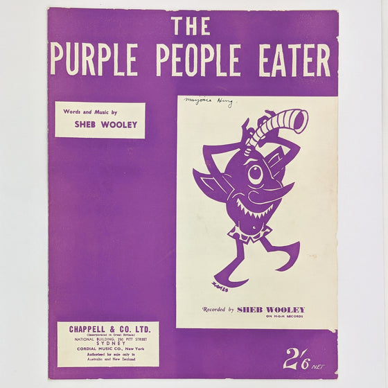 Purple People Eater - Sheet Music