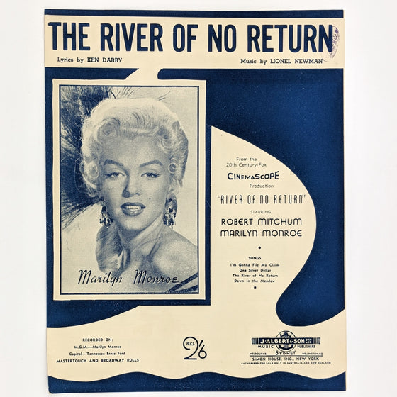 River of no return - Sheet Music