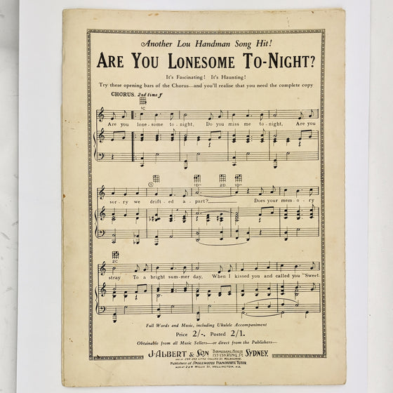 Nothin - Sheet Music