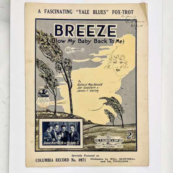 Breeze - Sheet Music
