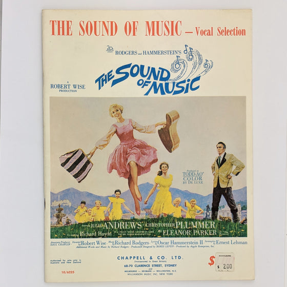 Sound of Music - Sheet Music