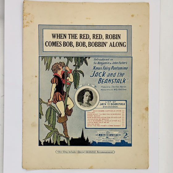 Red Red Robin - Sheet Music