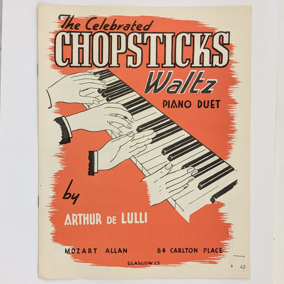 Chopsticks - Sheet Music