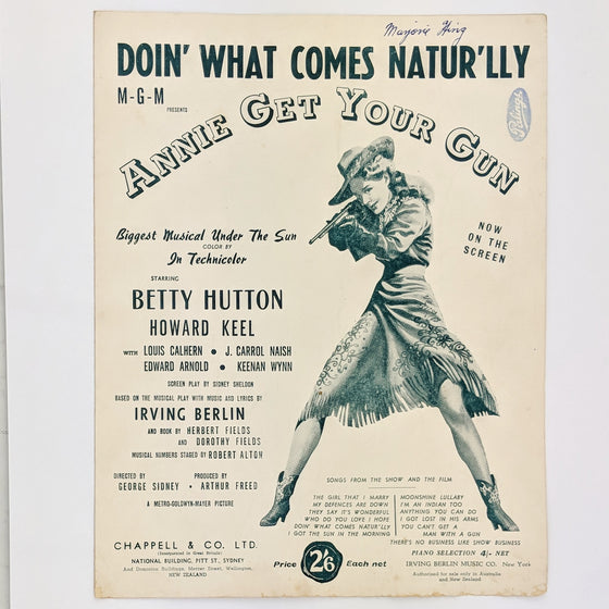 Annie get your gun  - Sheet Music