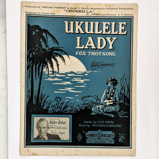 Ukulele lady  - Sheet Music