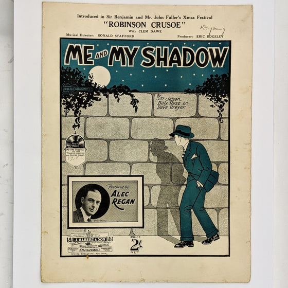 Me and my shadow  - Sheet Music