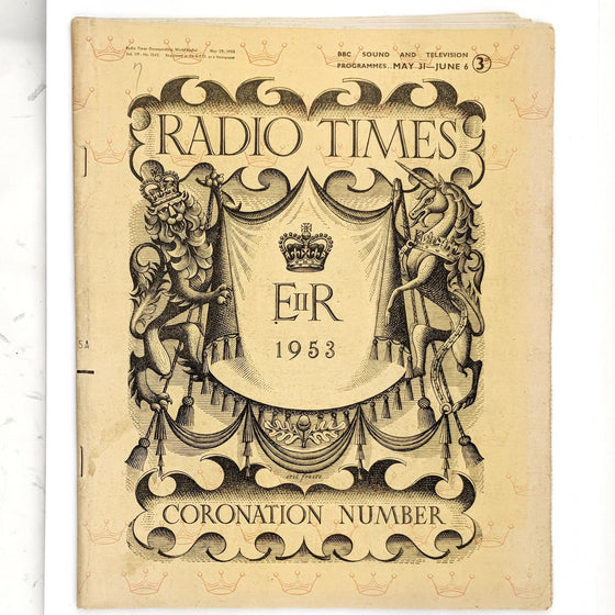 Radio Times - 1953 Coronation Issue
