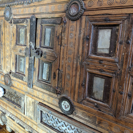 Hispano Moresque cabinet